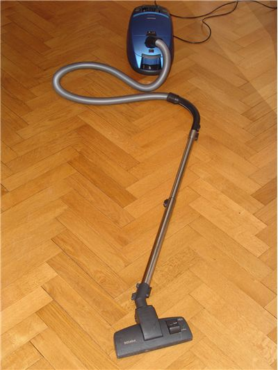 Picture Of Blue Vacuum Cleaner