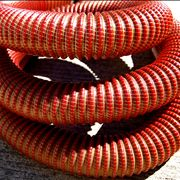 Picture Of Red Vacuum Cleaner Hose